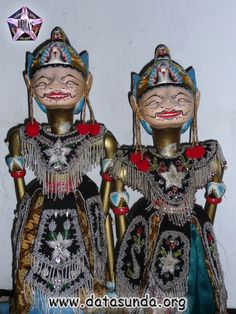 Wayang | Wayang Golek - Nakula & Sadewa - Ujang Wayang (Eman Sulaiman ...
