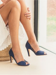 Pumps - La Promise - Egyptian Blue - Bobbies