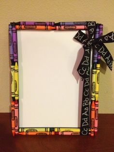 I MADE THIS FOR E'S 1ST DAY OF SCHOOL SIGN!!!!!!! TOOK 20 MIUNUTES  SO CUTE  REUSABLE FOR END OF YEAR PHOTO. White board. Crayons. Less than $5.