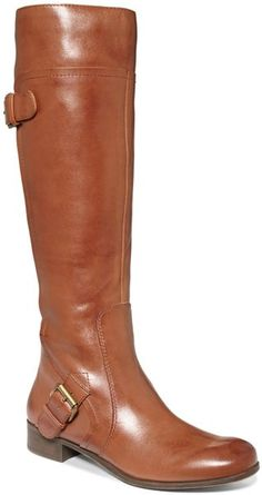 Nine West Sookie Riding Boot in honey. Matches everything and so comfortable. $160