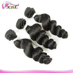 7A Romance curl XBL Hair Wholesale Virgin Peruvian Human Hair Extension