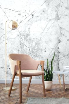 See Why Marble Interior Design Is The Ultimate Trend For 2017 - Virily Stone Texture Wall, Minimalism Living, Marble Interior, Interior Decorating, Interior Design, Luxury Home Decor, Room Decorations, Wall Murals, Wall Art