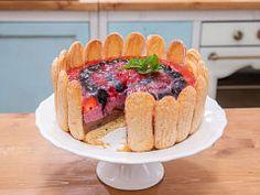 Piškotový želé dort — Peče celá země — Česká televize Cheesecake, Pie, Food, Torte, Cake, Cheesecakes, Fruit Cakes, Essen, Pies
