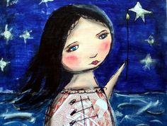 She sets the Stars Alight.................matariki