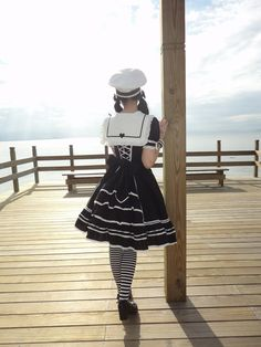 Gothic Sailor Lolita- Talk about a specific look!