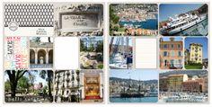 Life in paper and glue: Travel album prep