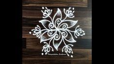 Simple Rangoli Designs Images, Rangoli Designs Flower, Rangoli Ideas, Rangoli Designs With Dots, Kolam Rangoli, Rangoli With Dots, Easy Rangoli, Kolam Designs, Free Hand Rangoli Design