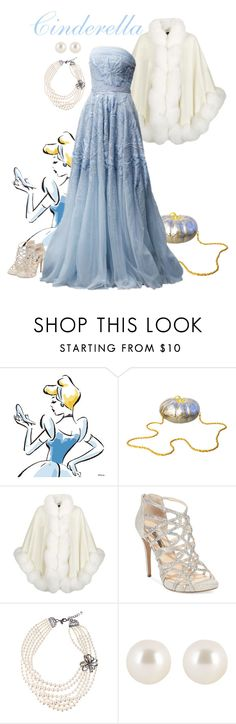 """""""What a Blue-tiful night"""" by sharktooth ❤ liked on Polyvore featuring Neiman Marcus, Harrods, INC International Concepts, Gabriele Frantzen, Henri Bendel, Blue, disney and cinderella"""