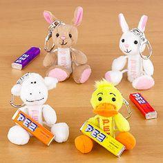Pez Easter Plush Hippity Hoppities