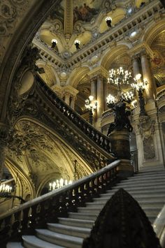 Opéra Garnier, Paris by Maelo Paris