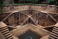 Photo by @stevemccurryofficial // Stepwells have existed in India for hundreds of years, and help provide water storage during the dry seasons. Stepwells provide a place for people to socialize out of the searing heat of the hot months. The practical use was enhanced by the beauty of the architecture of many of the ancient wells, which are mainly located in Gujarat and Rajasthan.