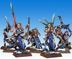 Wood Elf Wardancers color scheme