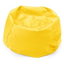 Comfy Kids   Comfy Bag Beanbag In Yellow Vinyl