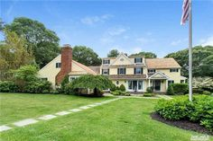 A Truly Exceptional Estate Where Tranquility Abounds. Recently Renovated And Expanded 5 Bedroom, Bath Cold Spring Harbor, Fish Hatchery, Full Bath, Luxury Homes, Mansions, House Styles, Dream Homes, Bedroom, Luxurious Homes