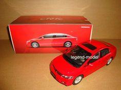 1/18 CHINA new Honda civic red color
