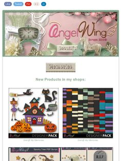 Ad:New Halloween Designer Pack,30% Off Sale,FB Fan Freebies,& More from Angel Wing Scraps!https://madmimi.com/s/60ebd4