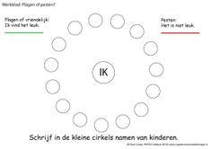 verschil tussen plagen en pesten; bij wie vind ik het erg, bij wie vind ik het grappig? , #ekkomi #kindercoach http://www.pinterest.com/ekkomikndrcch