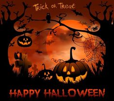 Halloween Images Free, Happy Halloween Quotes, Happy Halloween Pictures, Fröhliches Halloween, Halloween Wishes, Easter Pictures, Halloween Themes, Halloween Sayings, Halloween Village