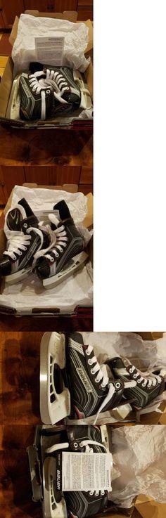 Ice Hockey-Youth 26342: Bauer Youth Hockey Skates 9.0R -> BUY IT NOW ONLY: $40 on eBay!