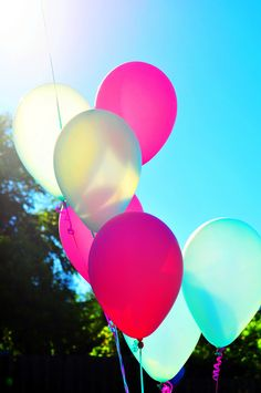 balloons and sunshine