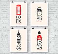 London Inspired: Wall Art Prints