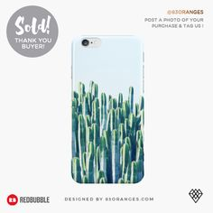 Just sold an iPhone Case with my artwork titled 'Cactus V2'! Order yours or see all #redbubble products carrying this design here: https://www.redbubble.com/people/83oranges/works/18415753-cactus-v2-redbubble-home-lifestyle-buyart-decor?asc=u&p=iphone-case