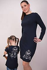 Šaty - Tmavomodré šaty - folk - 9148380_ Folk, Dresses With Sleeves, Long Sleeve, Fashion, Moda, Popular, Sleeve Dresses, Long Dress Patterns, Fashion Styles