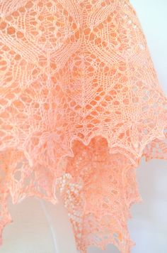 Etsy $5.30 Shawl pattern Evanston. Hand Knitted Lace Shawl Wrap by LaceKnit