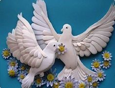 Как сделать голубя из бумаги своими руками: как украсить подарок,
