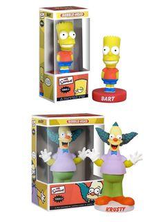 Figurine Simpsons -Krusty le Clown ou Bart - 2 des personnages les plus barrés de la Série Animée, et pourtant ils sont nombreux à l'être