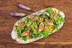 Salada de agrião com mandioquinha e figo | Panelinha - Receitas que funcionam