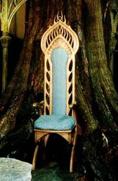 rivendell chair council of elrond Hobbit Hole, The Hobbit, Throne Chair, Elvish, Thranduil, Middle Earth, Lord Of The Rings, Tolkien, Lotr