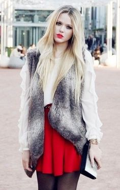 Love everything except the fur vest!