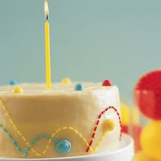 Bouncing Ball Cake >> Bouncing Ball Cake These kid-friendly confections lend the perfect creative touch to a party. This cake is the perfect dessert for a Bouncy Party. Birthday Party Planner, Ball Birthday Parties, Birthday Calendar, Birthday Ideas, Happy Birthday, Boy Birthday, Fondant, Martha Stewart Recipes, Homemade Birthday Cakes