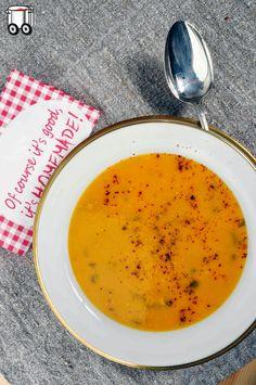 Quick Cheap Tasty : Cream of pumpkin and sweet potato (no gluten free,...