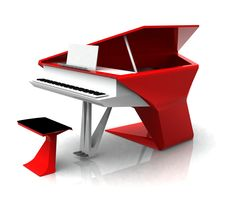 Alexander Gorlin Architects Bosendorfer Piano, Grand Piano, Piano Music, New Bands, Spotify Playlist, Musical Instruments, Geometric Shapes, Musicals, Furniture Design