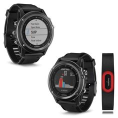 GPS and Running Watches 75230: Garmin Fenix 3 Hr Sapphire Gps Multisport Watch With Wrist-Based Heart Rate -> BUY IT NOW ONLY: $449.99 on eBay!