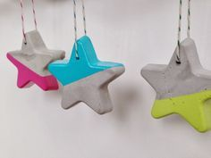 Yeobo: modern christmas ornament (cement) | DIY
