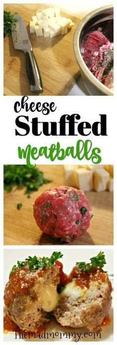 These delicious stuffed meatballs are a hit with kids.