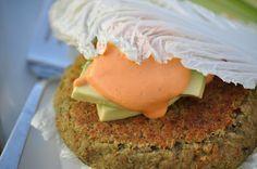 Nourishing Meals: Spicy Thai Mung Bean Burgers