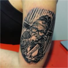 Fantastic portrait by Federico Nicolaci #tattoo  #artskin #artskintattoo #federiconicolaci #artskinicolaci #portrait