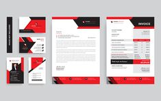 Onward Branding Stationery Corporate Identity Template