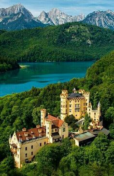Castle Hohenschwangau Bavaria Germany