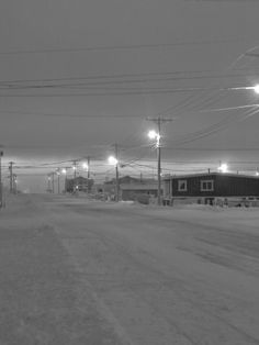 Sunless Day in Barrow Alaska, by Dan Wall of northierthanthou #SundayTraveler
