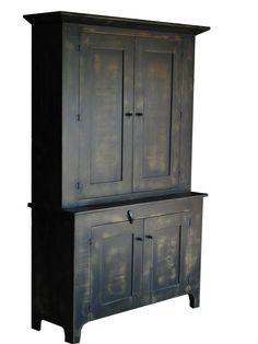 Brentwood Cupboard - Shane Rodarte  maker from New Waverly, TX --Approximately $1,500 - $3,000  Wonderfully simple. Elegantly useful. The Brentwood Cupboard is a traditional step-back hutch in every sense.