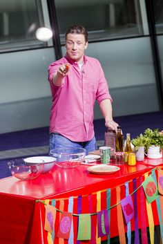 Jamie Oliver Photos: Jamie Oliver Presents Food Revolution Day