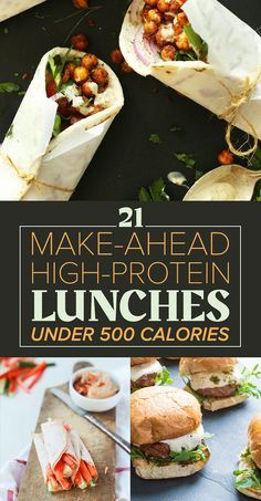21 Make-Ahead, High-Protein Lunches Under 500 Calories