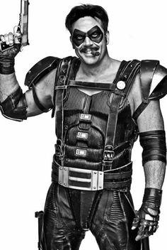 Jeffrey Dean Morgan as Eddie Blake, aka The Comedian, in 'Watchmen' The Comedian Watchmen, Watchmen Hbo, Dc Movies, Movie Characters, Dr Manhattan, Zou, Still Photography, Hair Photography, It Movie Cast