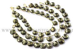 Golden Pyrite Beads Faceted Coin Semiprecious Gemstone Beads #pyrite #pyritebeads #pyritebead #pyritecoin #coinbeads #beadswholesaer #semipreciousstone #gemstonebeads #beadswholesaler #beadwork #beadstore #bead