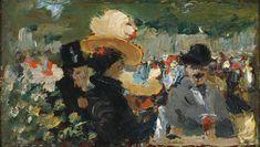 Robert Henri - Cafe Bleu, St. Cloud - c. 1895-1899